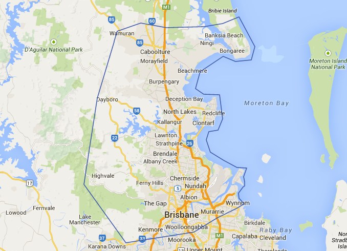 how to get to stradbroke island from brisbane cbd
