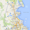 RCES service area includes all North Brisbane from Bribie Island to Wynnum and Woolloongabba